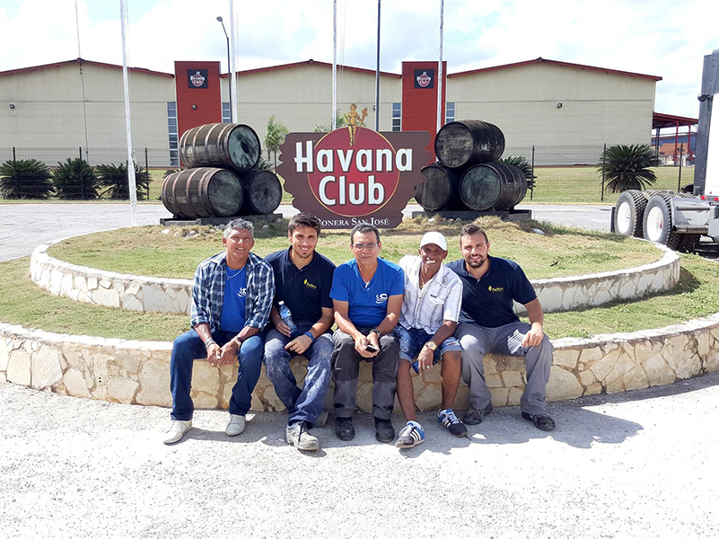 Project EPC. Salher Designs and Installs an Industrial Water Treatment Plant for Havana Club, leader company at Cuban rum producer