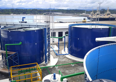 EDAR completa para Terminal marítima Moín, Puerto Limón (Costa Rica)