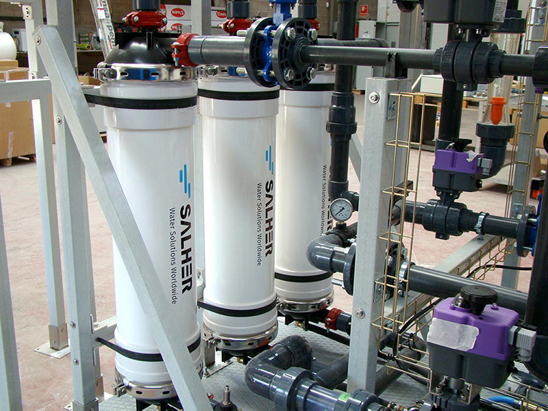 Ultrafiltration: Find out all about the keys of Salher water treatments through membranes technology