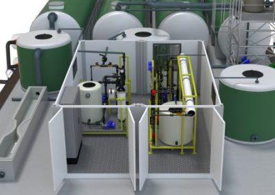 Salher® diseña, fabrica, suministra e instala plantas de potabilización compactas en todo el mundo.