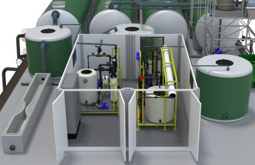 Salher reproduce en 3D los procesos de depuración de aguas residuales