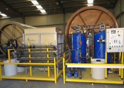 Salher® diseñó una planta de potabilización que incluía tratamiento fisico-químico, decantación lamelar y filtración por carbón activo para el  Hospital de Menongue, en Angola.