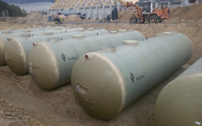 New Salher WWTP for a mining industry in Belarus