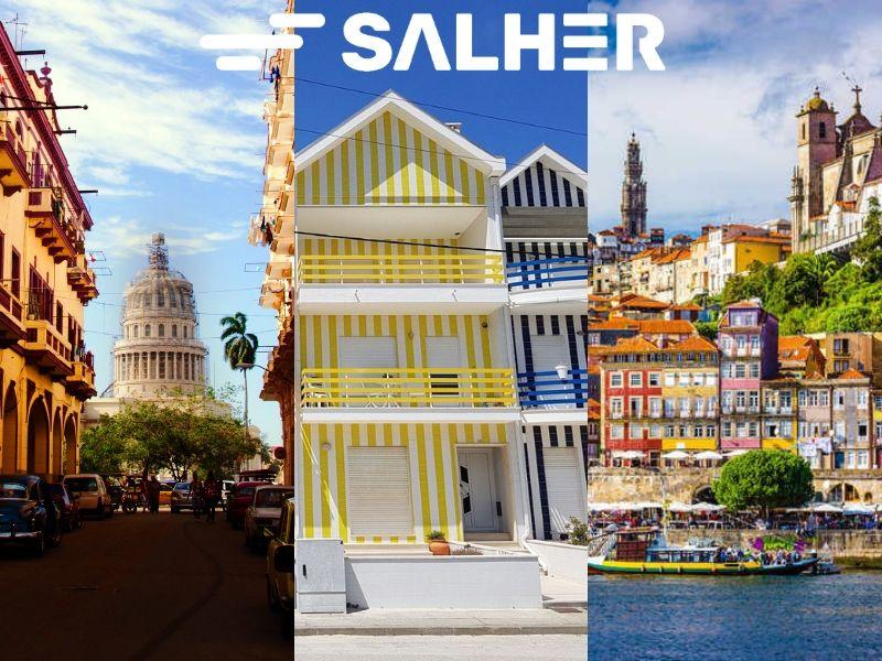 Salher visita La Habana, Aveiro y Portugal en noviembre