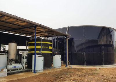 EDAR de Salher para industria láctea en Costa de Marfil
