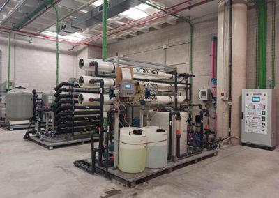Planta potabilizadora Salher para el aeropuerto de Alicante-Elche