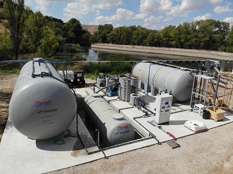 Salher opracowuje zrównoważone rozwiązania w zakresie oczyszczania ścieków przemysłowych